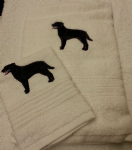 ROTTWEILER PERSONALISED TOWEL SET - DOG